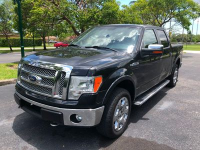 "2011 Ford F-150 4WD SuperCrew 145"" Lariat Truck"
