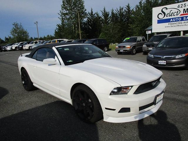 2011 Ford Mustang 2dr Convertible V6 Premium For Sale Lynnwood Wa
