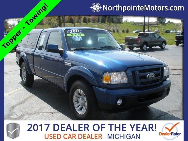 2011 Ford Ranger 4wd 4dr Supercab 126 Xlt Truck Extended Cab Standard Bed For Sale Traverse City Mi 13 000 Motorcar Com