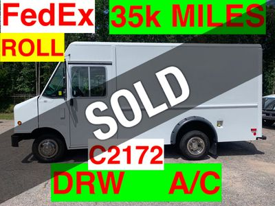 2011 Ford STEP VAN JUST 26k MILES ONE OWNER FEDEX GROUND! ROLL UP A/C