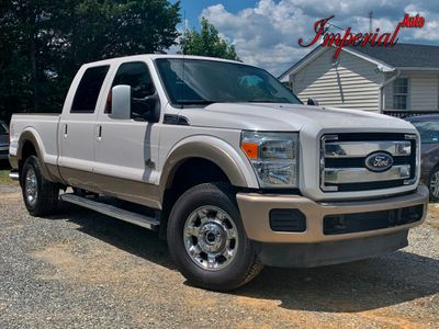 "2011 Ford Super Duty F-250 SRW 4WD Crew Cab 156"" King Ranch Truck"