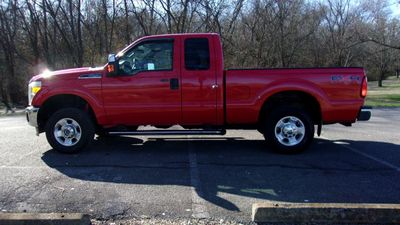 "2011 Ford Super Duty F-250 SRW 4WD SuperCab 142"" XLT Truck"