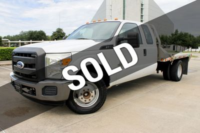 2011 Ford Super Duty F-350 F-350 EXTENDED CAB FLAT BED Truck