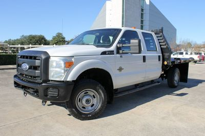 "2011 Ford Super Duty F-350 SRW Cab-Chassis 4WD Crew Cab 176"" WB 60"" CA XL Truck"