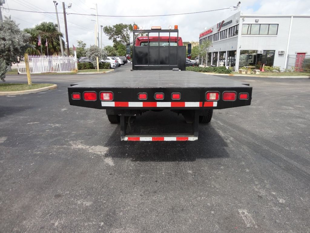 2011 Freightliner BUSINESS CLASS M2 106 AIR BRAKES. AIR SUSPENSION..22FT FLATBED.. - 17335326 - 3
