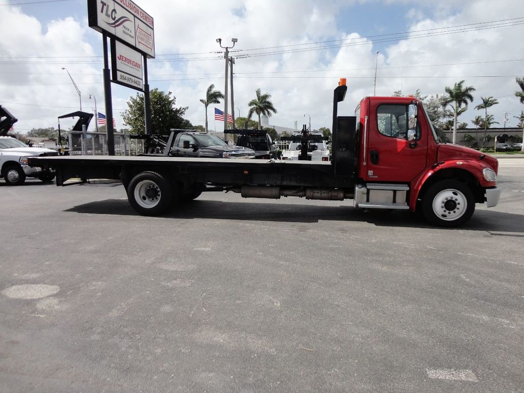 2011 Freightliner BUSINESS CLASS M2 106 AIR BRAKES. AIR SUSPENSION..22FT FLATBED.. - 17335326 - 6