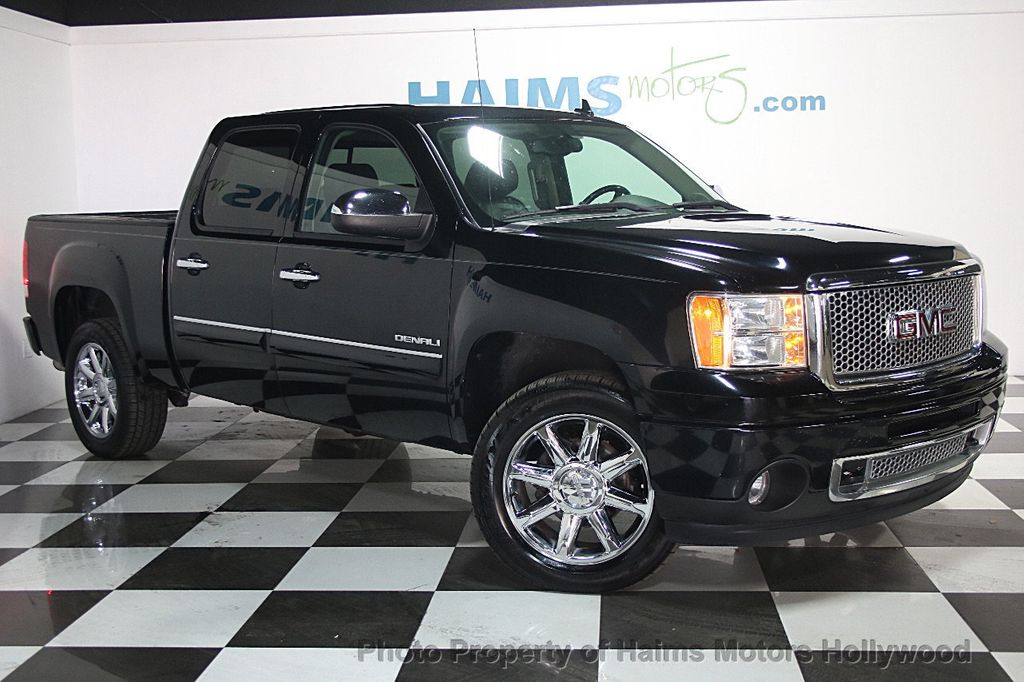 2011 used gmc sierra 1500 awd crew cab 143 5 denali at haims motors serving fort lauderdale. Black Bedroom Furniture Sets. Home Design Ideas