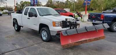 "2011 GMC Sierra 2500HD 4WD Ext Cab 144.2"" SLE - Click to see full-size photo viewer"
