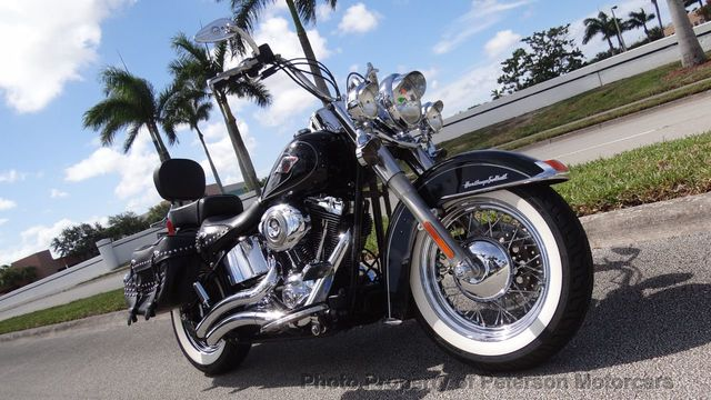 Harley Davidson Used >> 2011 Used Harley Davidson Heritage Softail Like New At Peterson Motorcars Serving West Palm Beach Fl Iid 14035014