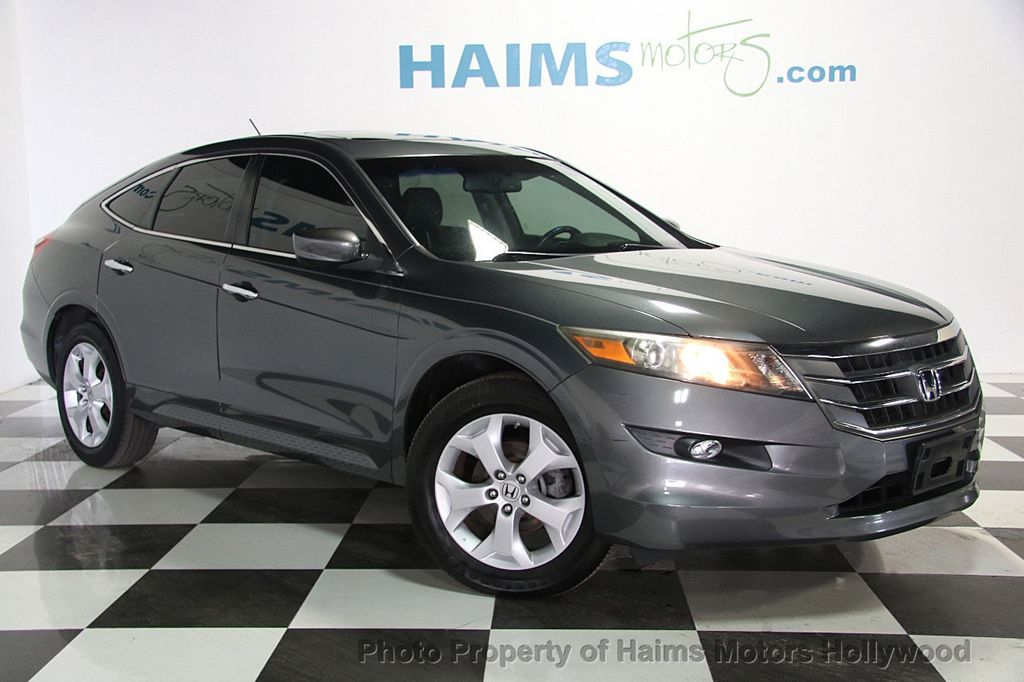 2011 used honda accord crosstour 2wd 5dr ex l at haims motors serving fort lauderdale hollywood. Black Bedroom Furniture Sets. Home Design Ideas