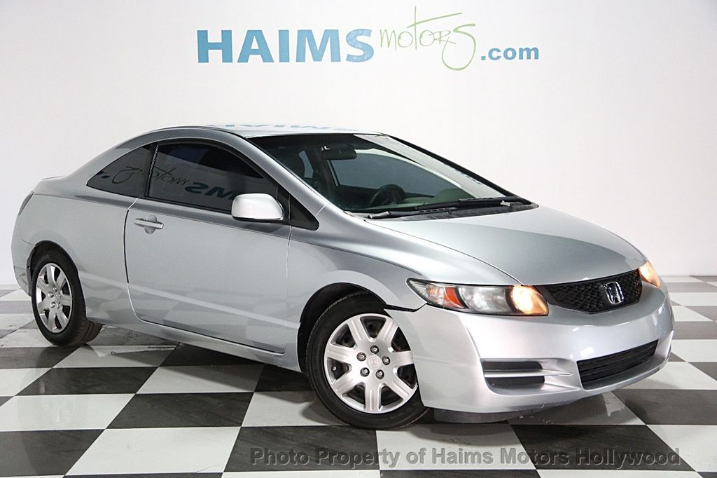 2011 used honda civic coupe 2dr automatic lx at haims motors serving fort lauderdale hollywood. Black Bedroom Furniture Sets. Home Design Ideas