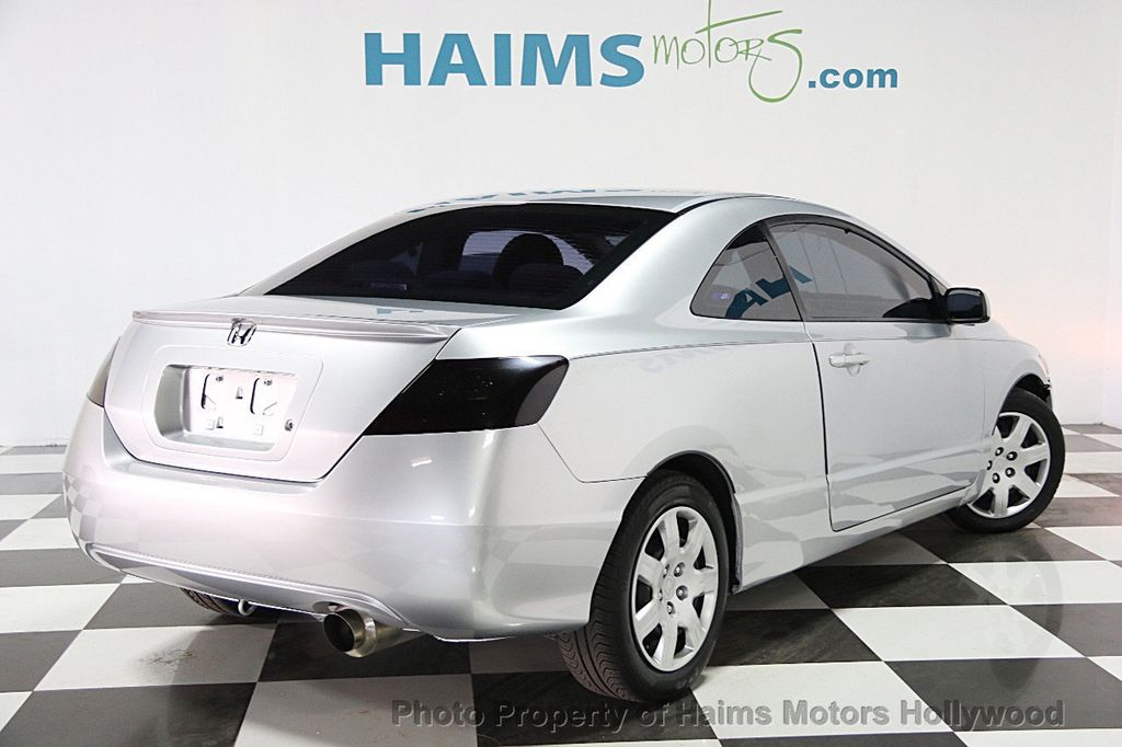 2011 used honda civic coupe 2dr automatic lx at haims motors hollywood serving fort lauderdale. Black Bedroom Furniture Sets. Home Design Ideas