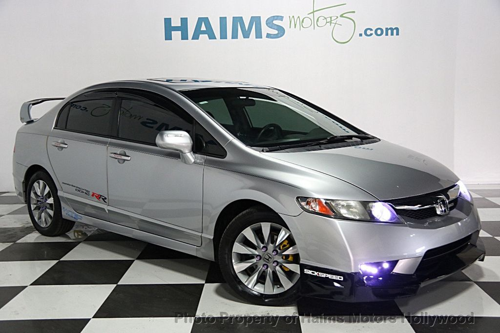 2011 used honda civic sedan 4dr automatic ex at haims motors serving fort lauderdale hollywood. Black Bedroom Furniture Sets. Home Design Ideas
