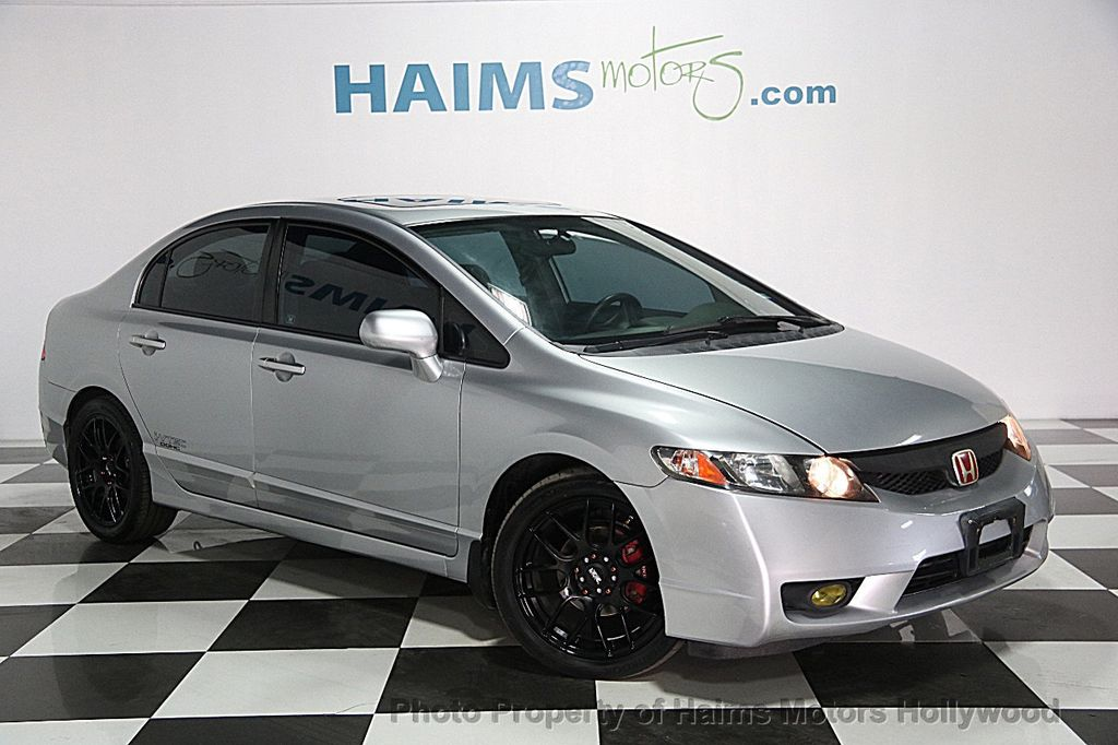 2011 used honda civic sedan 4dr automatic ex l at haims motors serving fort lauderdale. Black Bedroom Furniture Sets. Home Design Ideas