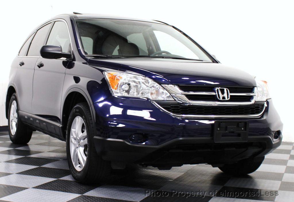 2011 Used Honda Cr V Certified Cr V Ex 4wd Suv At