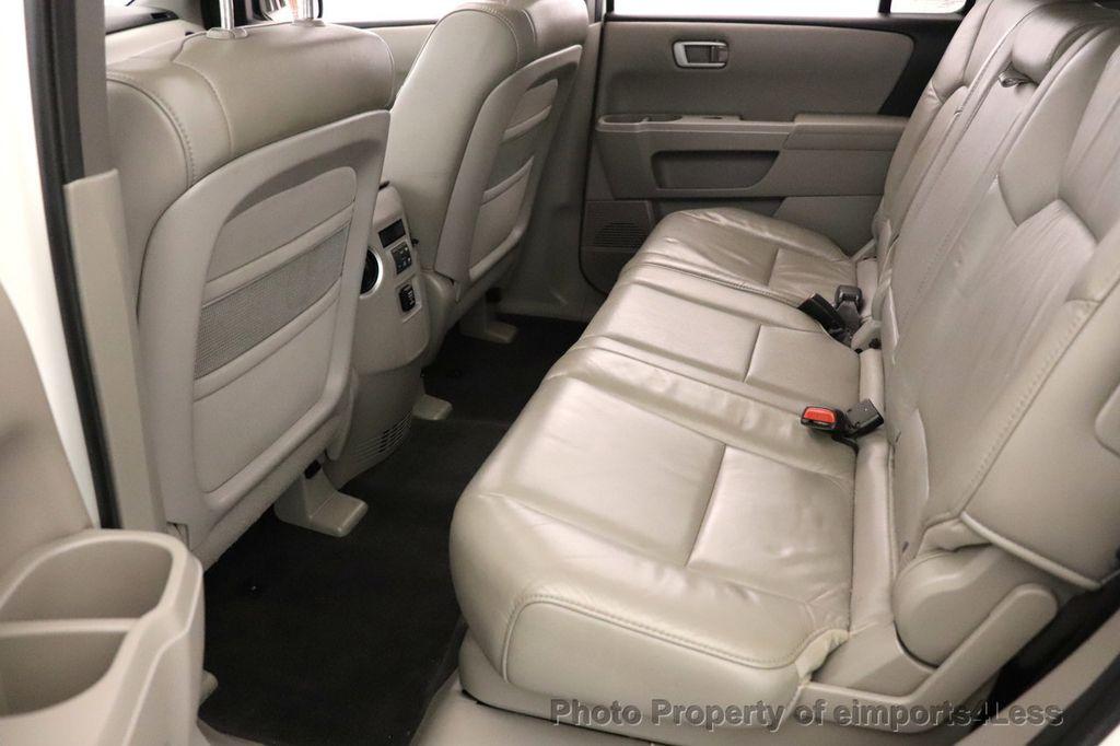 2011 Honda Pilot CERTIFIED PILOT EX L 4WD 8 PASSENGER - 18499854 - 25