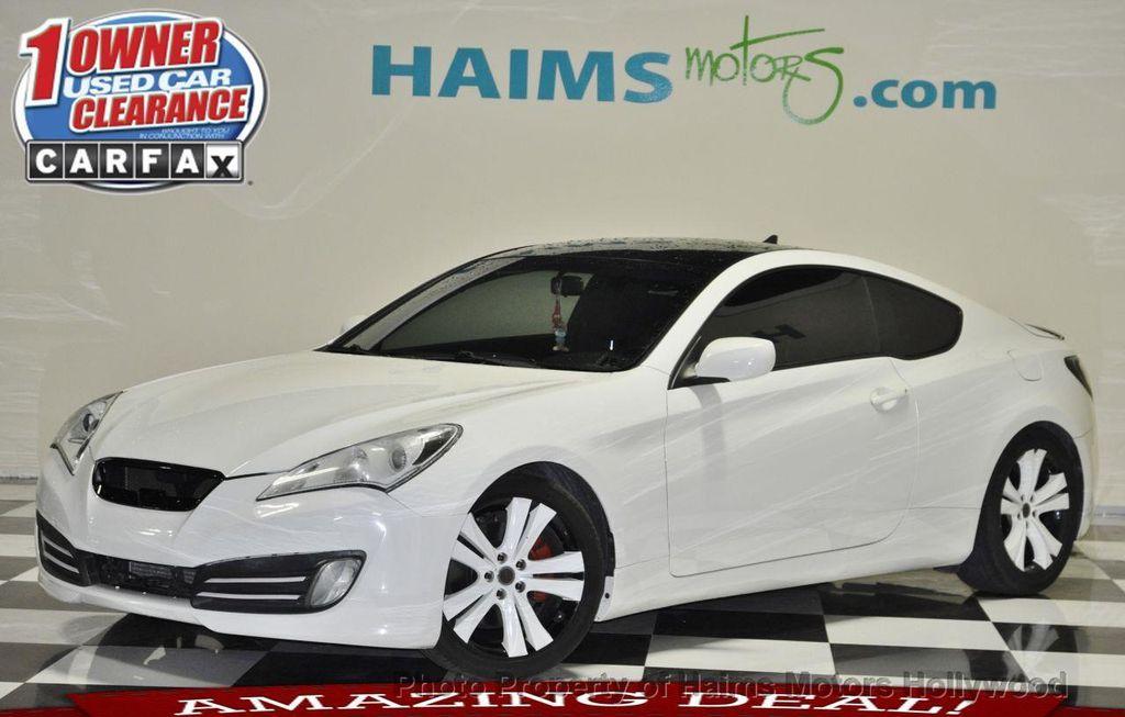 2011 Used Hyundai Genesis Coupe 2 0t At Haims Motors