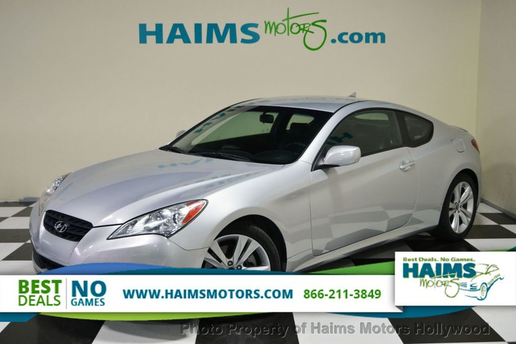 2011 Used Hyundai Genesis Coupe 2 0t At Haims Motors Serving Fort Lauderdale Hollywood Miami