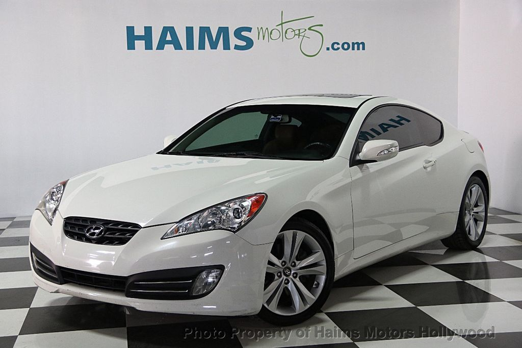 2011 Hyundai Genesis Coupe 2dr 3.8L Automatic Grand Touring W/Brn Lth    15592183