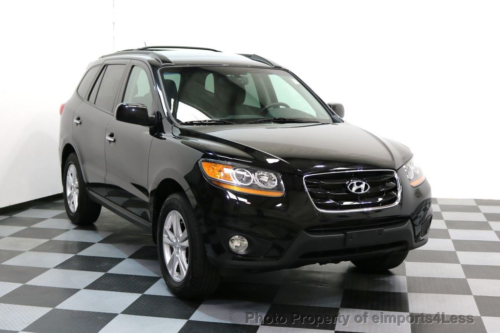 2011 used hyundai santa fe santa fe v6 awd limited at. Black Bedroom Furniture Sets. Home Design Ideas