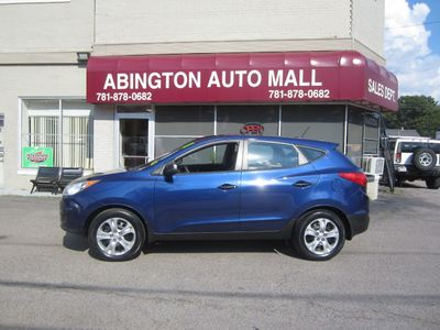 2011 Hyundai Tucson FWD 4dr Manual GL *Ltd Avail* - Click to see full-size photo viewer