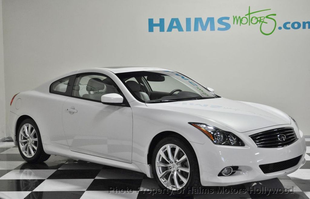 2011 Used Infiniti G37 Coupe 2dr Journey Rwd At Haims Motors Serving