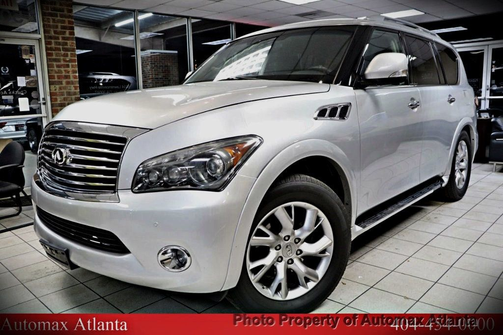 2011 Used Infiniti Qx56 Navigation And Back Up Camera At Automax Remote Start 18160381