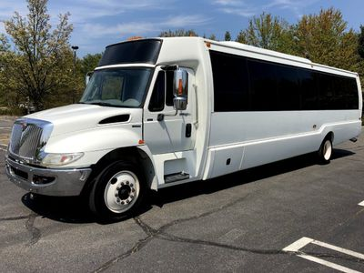 2011 International Krystal 36 Seat Shuttle Bus For Sale