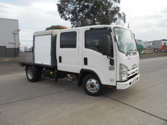 2011 Isuzu NLS 200 ISUZU NLS CREW ALL WHEEL DRIVE 4x2 - 17586277 - 6