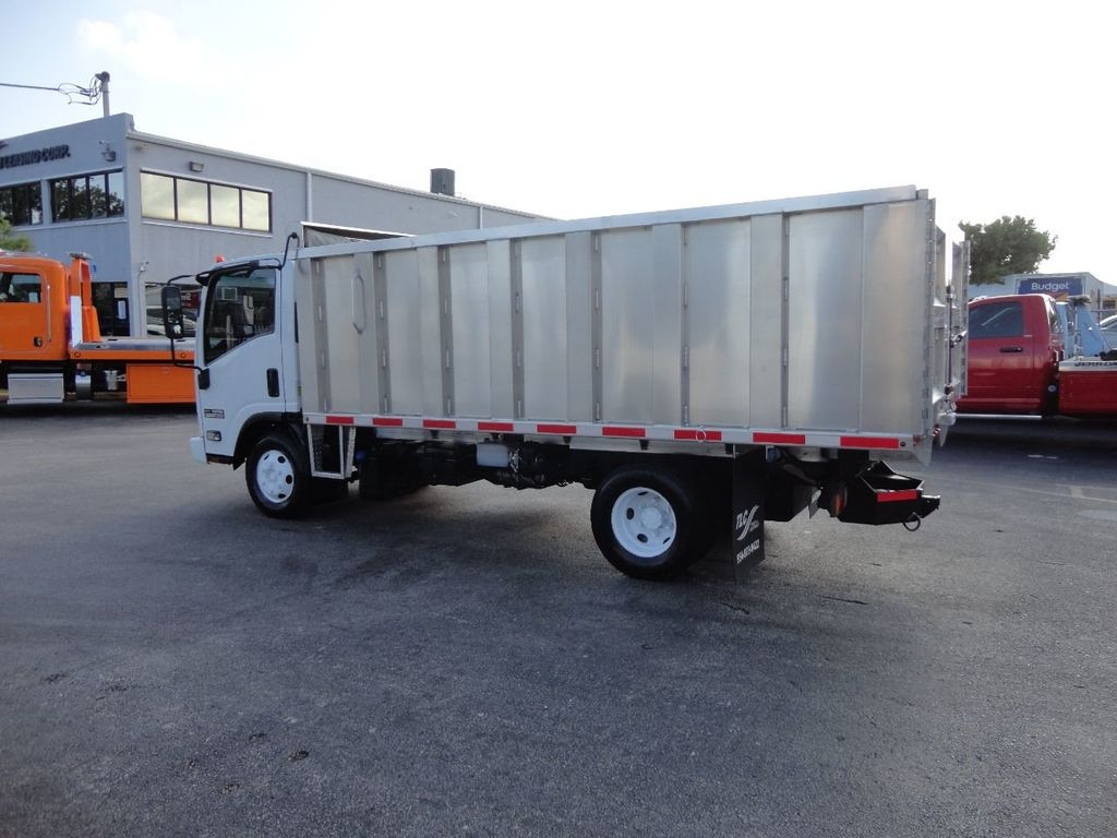 2011 Isuzu NPR 14FT ALUM TRASH DUMP TRUCK...NEW AD FAB DUMP BODY. - 17988648 - 9