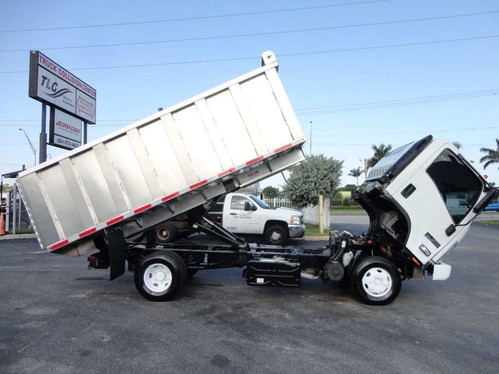 2011 Isuzu NPR 14FT ALUM TRASH DUMP TRUCK...NEW AD FAB DUMP BODY. - 17988648 - 20