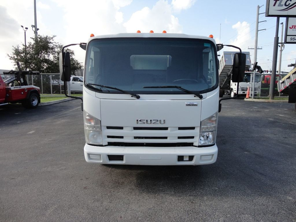 2011 Isuzu NPR 14FT ALUM TRASH DUMP TRUCK...NEW AD FAB DUMP BODY. - 17988648 - 3