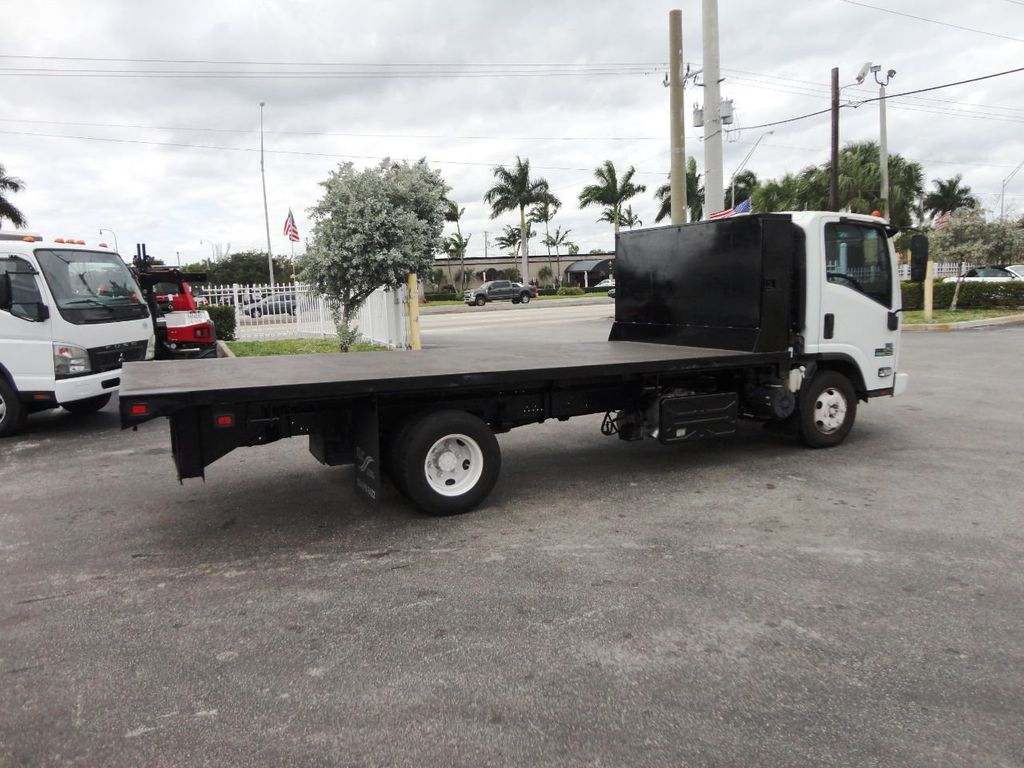 2011 Isuzu NPR 17FT FLATBED - 18450951 - 9