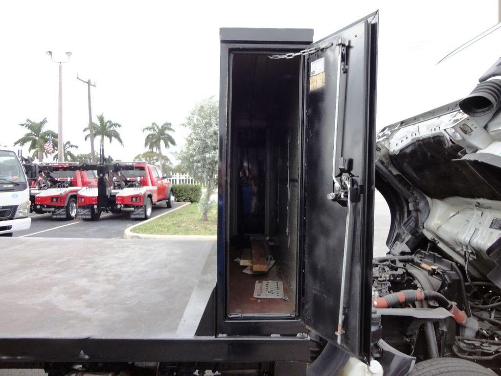 2011 Used Isuzu NPR 17FT FLATBED at Tri Leasing Corp Serving Pompano Beach,  FL, IID 18450951