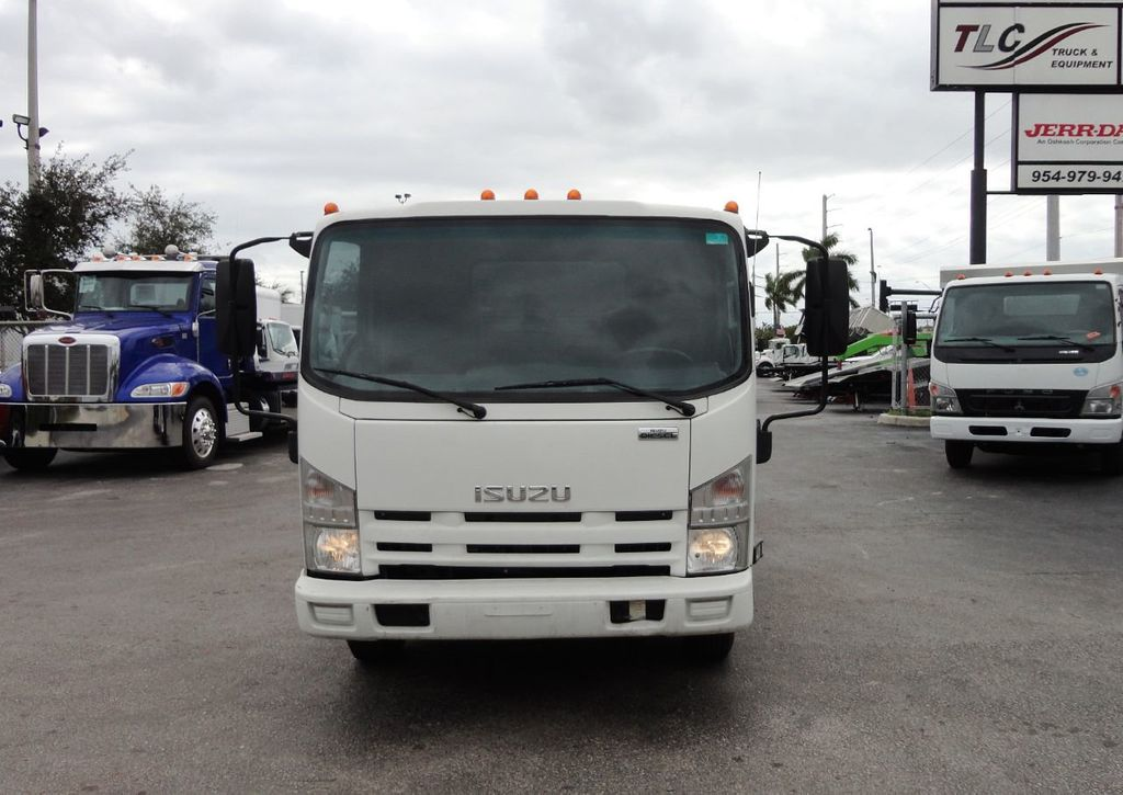 2011 Isuzu NPR 17FT FLATBED - 18450951 - 2