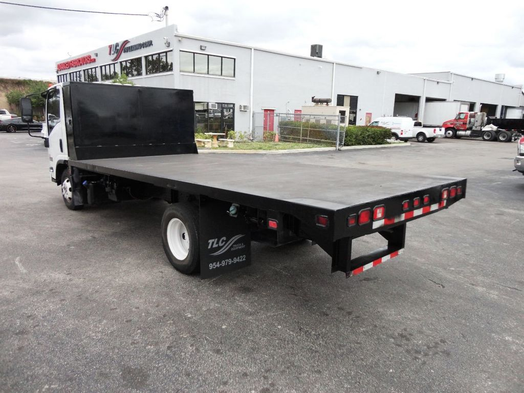 2011 Isuzu NPR 17FT FLATBED - 18450951 - 6