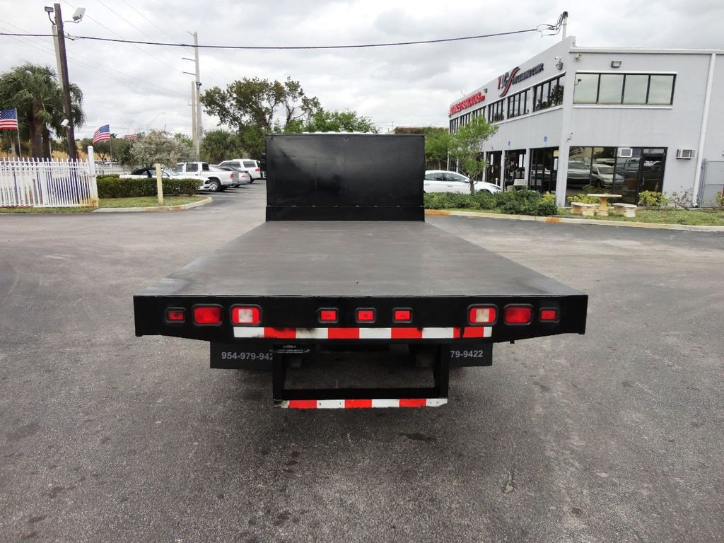2011 Isuzu NPR 17FT FLATBED - 18450951 - 7