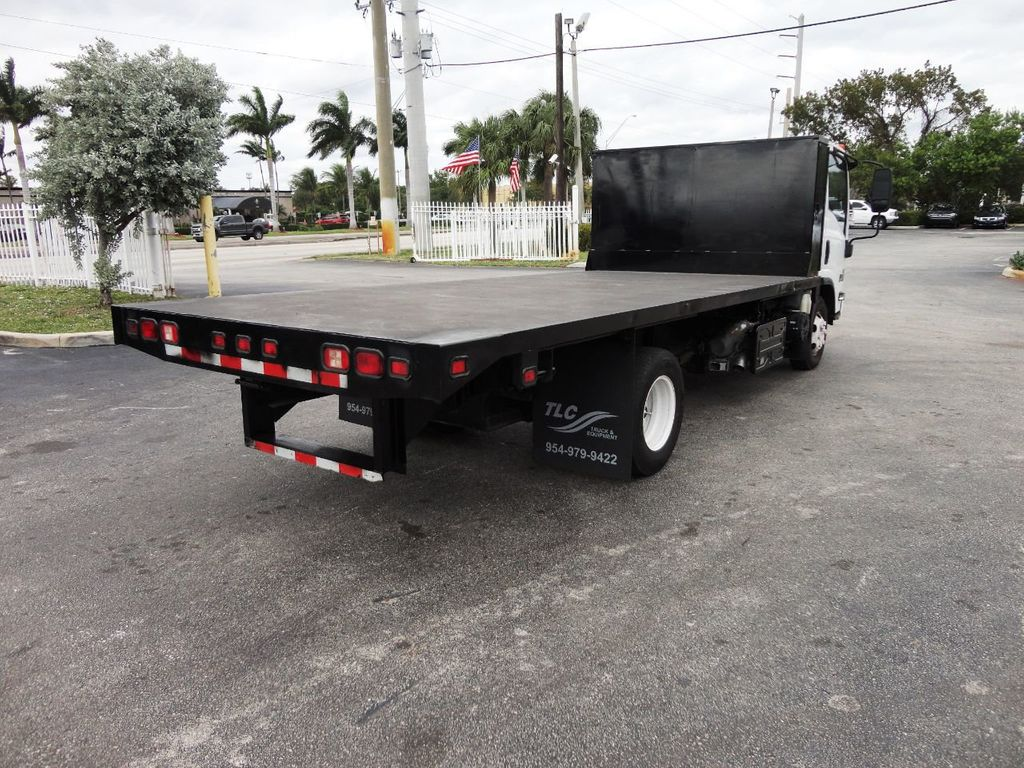 2011 Isuzu NPR 17FT FLATBED - 18450951 - 8