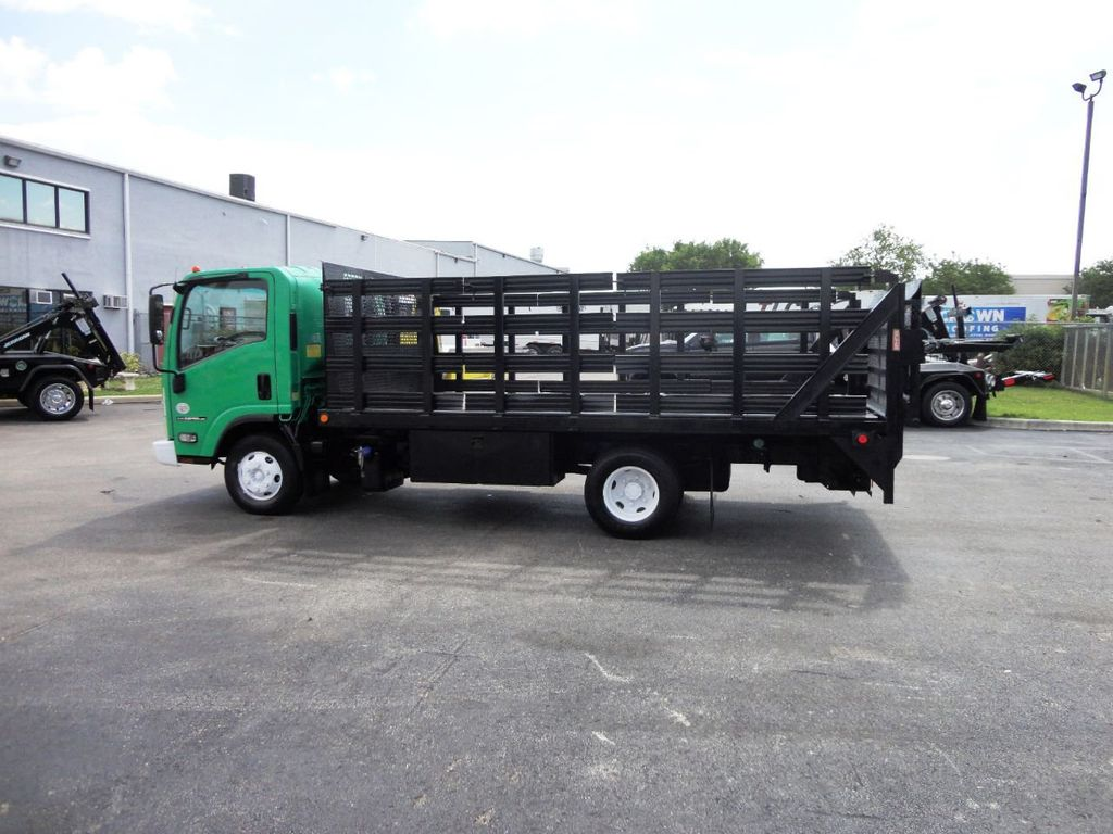 2011 Isuzu NPR HD 16FT FLATBED STAKE BED WITH LIFTGATE..STAKE TRUCK. - 18910798 - 5