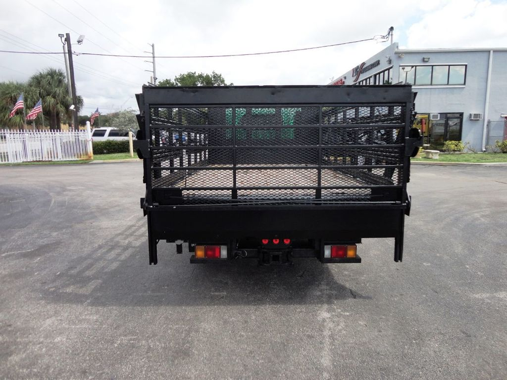2011 Isuzu NPR HD 16FT FLATBED STAKE BED WITH LIFTGATE..STAKE TRUCK. - 18910798 - 7