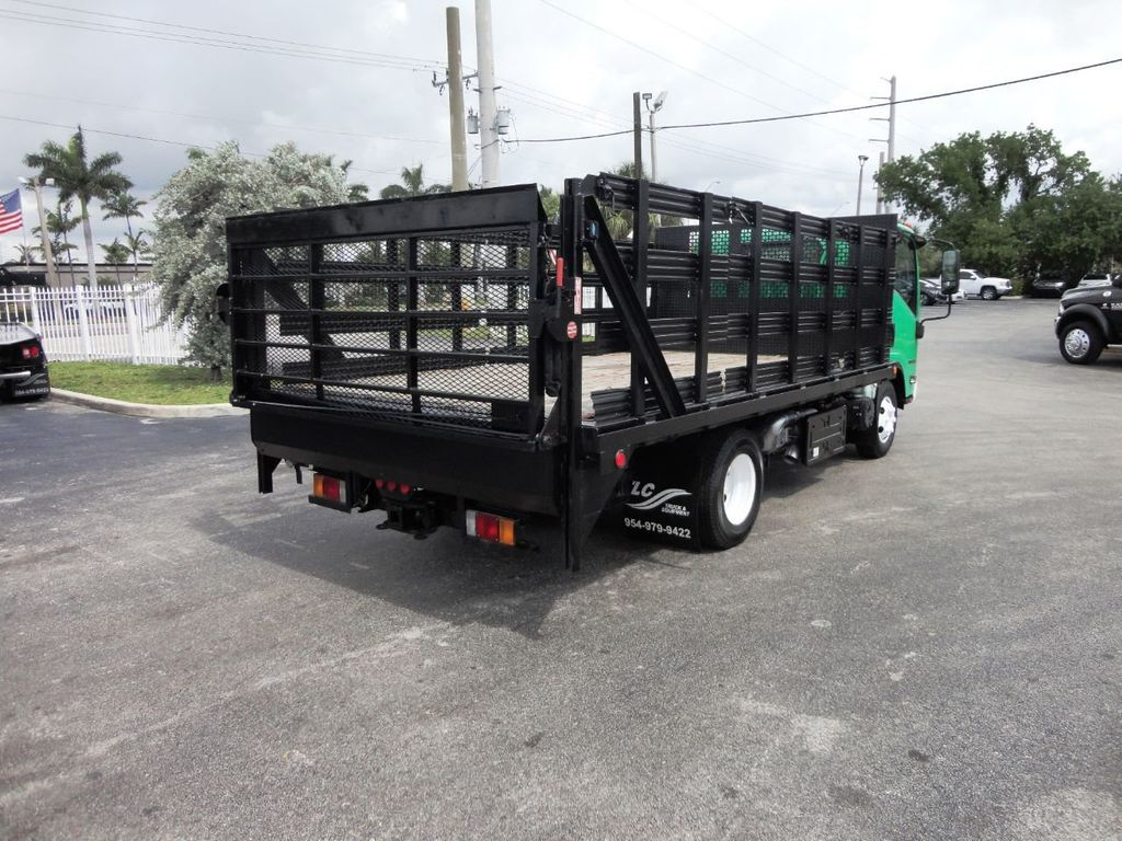 2011 Isuzu NPR HD 16FT FLATBED STAKE BED WITH LIFTGATE..STAKE TRUCK. - 18910798 - 8