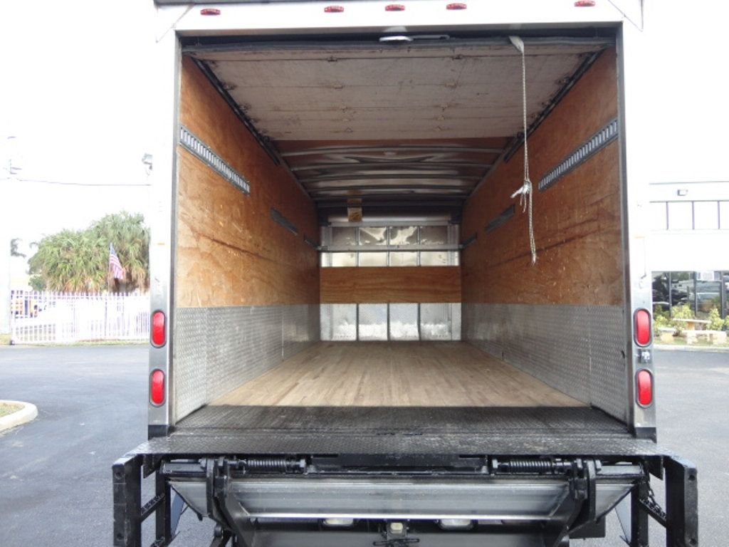 2011 Isuzu NRR 20FT DRY BOX..ALUMINUM TUCK UNDER LIFTGATE - 15799714 - 15