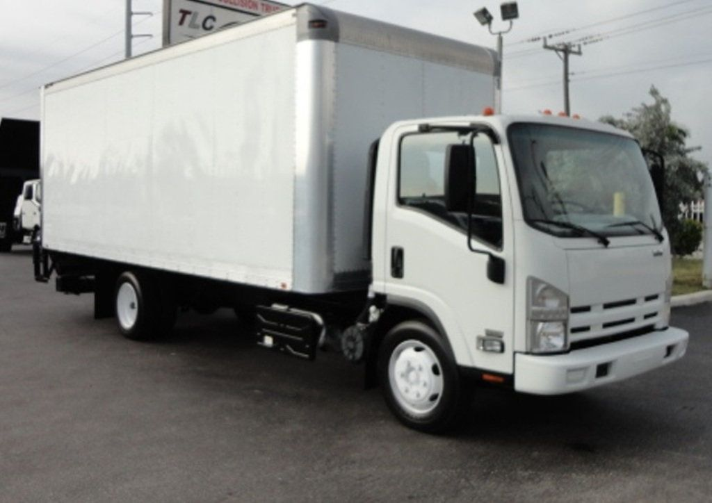 2011 Isuzu NRR 20FT DRY BOX..ALUMINUM TUCK UNDER LIFTGATE - 15799714 - 1
