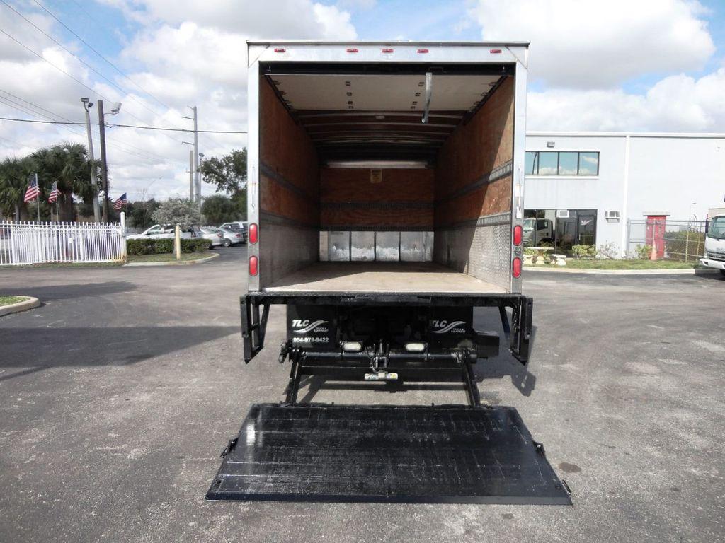 2011 Isuzu NRR 20FT DRY BOX CARGO TRUCK..2500LB TUCK UNDER LIFTGATE - 18433753 - 23