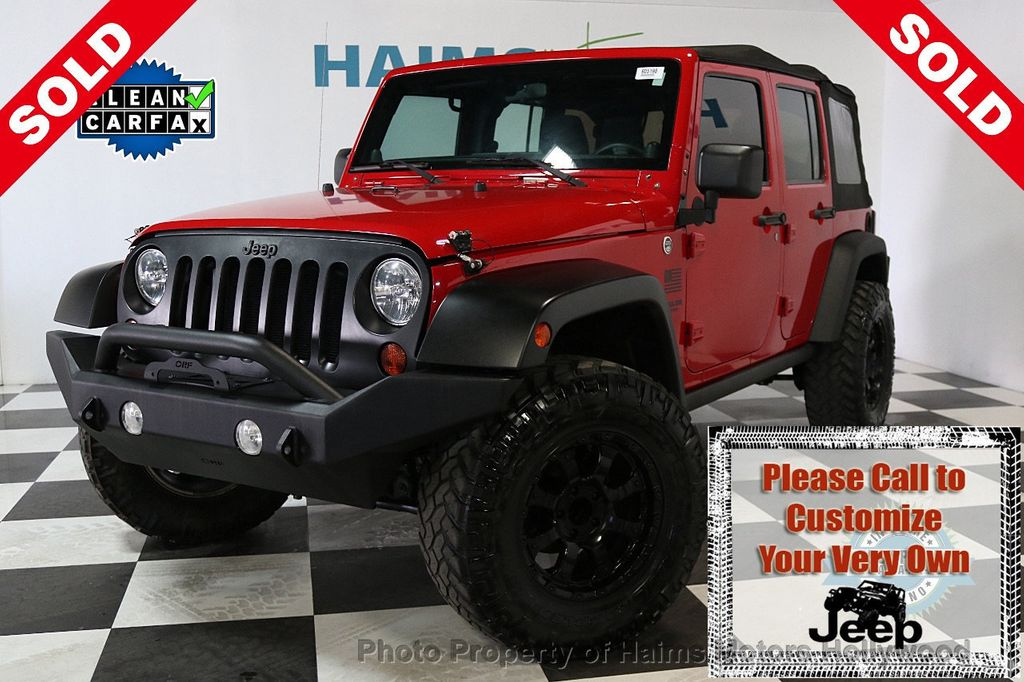2011 Jeep Wrangler Unlimited 4WD 4dr Mojave - 17740311 - 0
