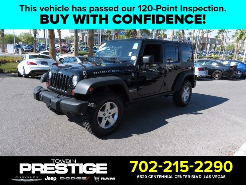 2011 Jeep Wrangler Unlimited 4WD 4dr Rubicon - 16790495 - 0
