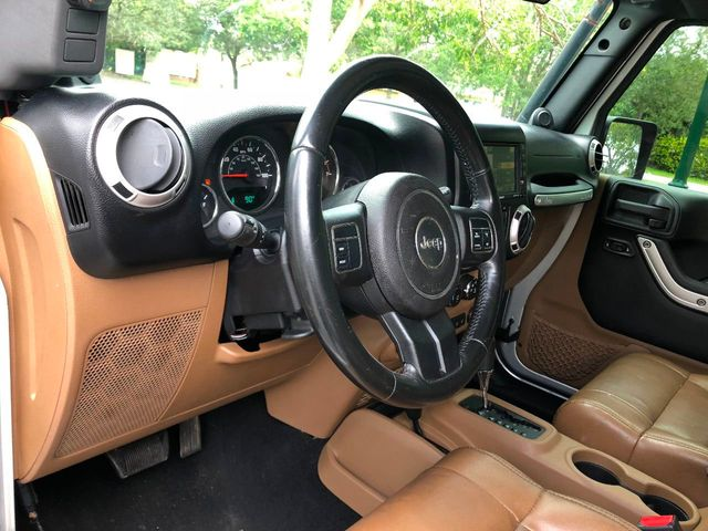 2011 Jeep Wrangler Unlimited 4WD 4dr Sahara - Click to see full-size photo viewer