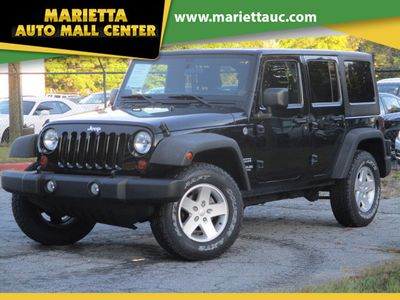 2011 Jeep Wrangler Unlimited 4WD 4dr Sport SUV