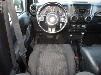 2011 Jeep Wrangler Unlimited 4WD 4dr Sport - Click to see full-size photo viewer
