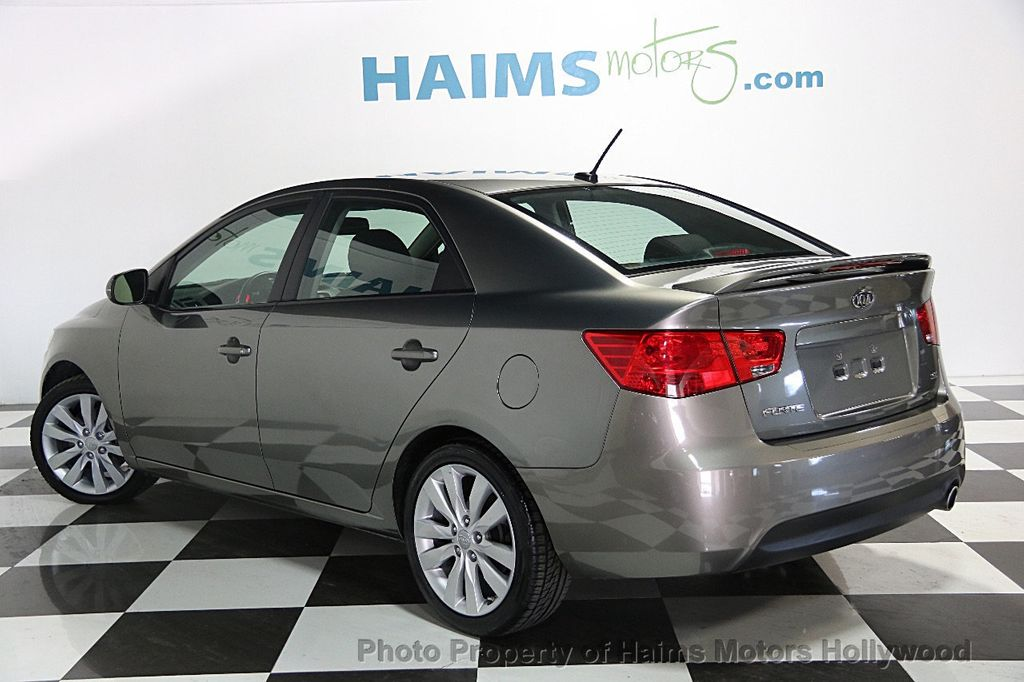 2011 used kia forte 4dr sedan automatic sx at haims motors serving fort lauderdale hollywood. Black Bedroom Furniture Sets. Home Design Ideas